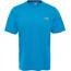 The North Face Reaxion Amp Crew Hardloopshirt korte mouwen Heren blauw